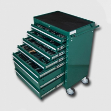 Mounting tool carts , tool modules